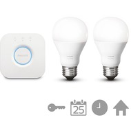 Philips Hue White E27 LED Starter Set 2 X E27 inklusive Bridge