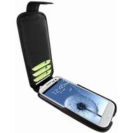 Piel Frama iMagnum2 Echtledertasche für Samsung Galaxy S3, schwarz