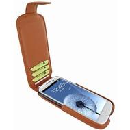 Piel Frama iMagnum2 Echtledertasche für Samsung Galaxy S3, tan-braun