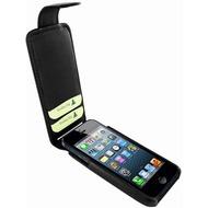 Piel Frama iMagnum2 Echtledertasche für Apple iPhone 5, schwarz