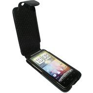 Piel Frama iMagnum Echtledertasche für HTC Desire HD, schwarz