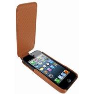 Piel Frama iMagnum Echtledertasche für Apple iPhone 5, tan-braun