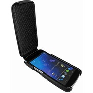 Piel Frama iMagnum Echtledertasche für Samsung i9250 Galaxy Nexus, schwarz