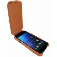 Piel Frama iMagnum Echtledertasche für Samsung i9250 Galaxy Nexus, tan-braun