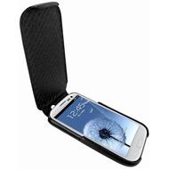 Piel Frama iMagnum Echtledertasche für Samsung Galaxy S3, schwarz