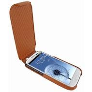 Piel Frama iMagnum Echtledertasche für Samsung Galaxy S3, tan-braun
