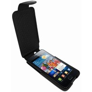 Piel Frama iMagnum Echtledertasche für Samsung i9100 Galaxy S2, schwarz