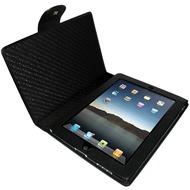 Piel Frama Ledertasche schwarz/ schwarz für Apple iPad