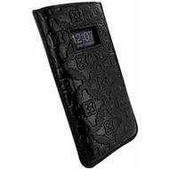 Piel Frama Pull Style Echtledertasche für Apple iPhone 5, schwarz