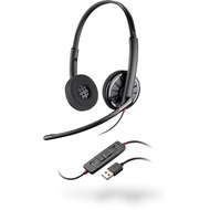 Plantronics Blackwire 320-M USB Binaural, anthrazit
