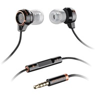 Plantronics In-Ear Stereo Headset BackBeat 216, schwarz