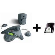 Polycom SoundStation VTX1000 mit ISDN-Adapter