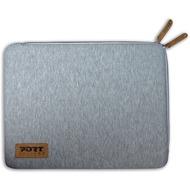 """PORT Designs TORINO SLEEVE - universelle Schutzhülle aus Bauwolljersey für 13.3/ 14"""" Notebooks, grau"""