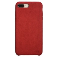 Power Support Power Support Ultrasuede Air Jacket Apple iPhone 8 /  7 Plus rot