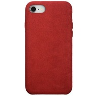 Power Support Ultrasuede Air Jacket  Apple iPhone 8 /  7  rot