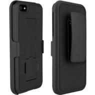 PureGear Holster Combo mit Ständer für iPhone 5, schwarz