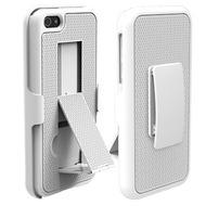 PureGear Holster Combo mit Ständer für iPhone 5, weiß