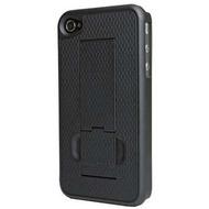 PureGear Protector Kickstand für iPhone 4 /  4S, schwarz