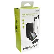 PureGear Universal Starter Accessory Kit (Case, Carcharger, Headset) für iPhone 4 /  4S