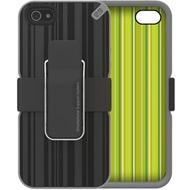 PureGear Utilitarian Case für iPhone 5, schwarz