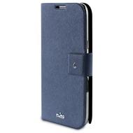 Puro Flip Case - Slim - Samsung Galaxy Note II - blau