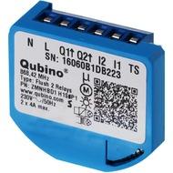 Qubino Flush 2 Schalter Relais Unterputz-Mikromodul EU