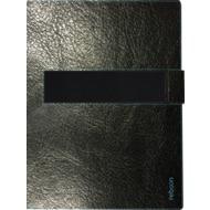 reboon booncover M Tablet Ledertasche u.a. iPad Air 2,pro 9,7 Galaxy Tab A, schwarz