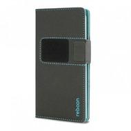 reboon booncover Smartphone Tasche u.a. Apple iPhone 5/ 5S/ SE, iPhone 6/ 6S Größe XS schwarz 5016