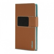 reboon booncover Smartphone Tasche u.a. Apple iPhone 6 Plus/ 6S Plus Größe XS2 braun 5035