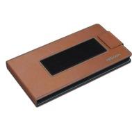 reboon boonflip Smartphone Ledertasche - Größe XS - braun