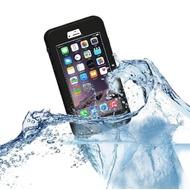 Redpepper - Wasserfeste Schutzhülle für Apple iPhone  6 Plus/ 6S Plus, schwarz