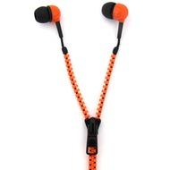 Thumbs Up Reißverschluss Kopfhörer - (orange/ schwarz)