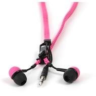 Thumbs Up Reißverschluss Kopfhörer (pink/ schwarz)