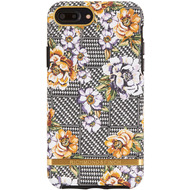 Richmond & Finch Floral Tweed - Gold Details for iPhone X/ Xs purple