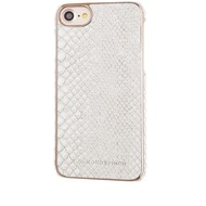 Richmond & Finch Framed Rosé for iPhone 7 white reptile