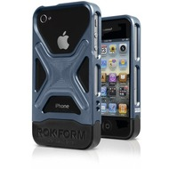 ROKFORM Rokbed Fuzion Cover Gun metal für iPhone 4/ 4s
