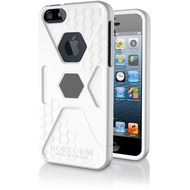 ROKFORM SlimRok Case Kit iPhone 5/ 5S/ SE white hot/ Gun Metal