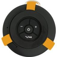 RugGear Bluetooth Speaker mit Freisprecheinrichtungm, Schwarz/ gelb