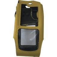 RugGear Ledertasche für RG 310 gelb