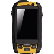 RugGear RG500 Dual-SIM, schwarz-gelb