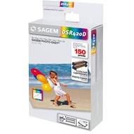 Sagem Pack DSR 420D (150 Blatt Papier+Folie)