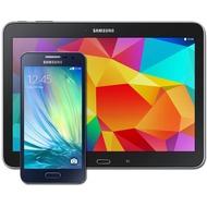 Samsung A300F Galaxy A3 (midnight-black) mit Galaxy Tab 4 10.1 16 GB (WiFi), schwarz