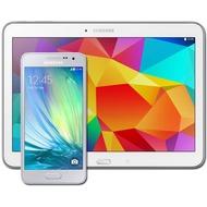 Samsung A300F Galaxy A3 (platinum-silver) mit Galaxy Tab 4 10.1 16 GB (WiFi), weiß