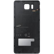 Samsung Akkudeckel EF-OG850 für Samsung Galaxy Alpha, Schwarz