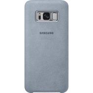 Samsung Alcantara Cover EF-XG950AM für Galaxy S8 mintgrün