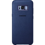 Samsung Alcantara Cover EF-XG955AL für Galaxy S8+ blau
