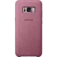 Samsung Alcantara Cover EF-XG955AP für Galaxy S8+ pink