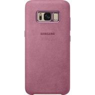 Samsung Alcantara Cover EF-XG950AL für Galaxy S8 pink
