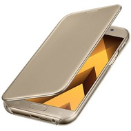 Samsung Clear View Cover A520F Galaxy A5 (2017) - gold