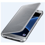 Samsung Clear View Cover - Galaxy S7 - silver